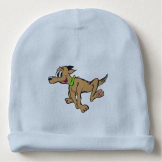 Happy Running Dog Customizable Beannie Baby Beanie