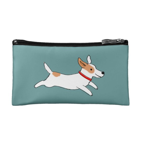 Happy Running Jack Russell - Colour Customisable Makeup