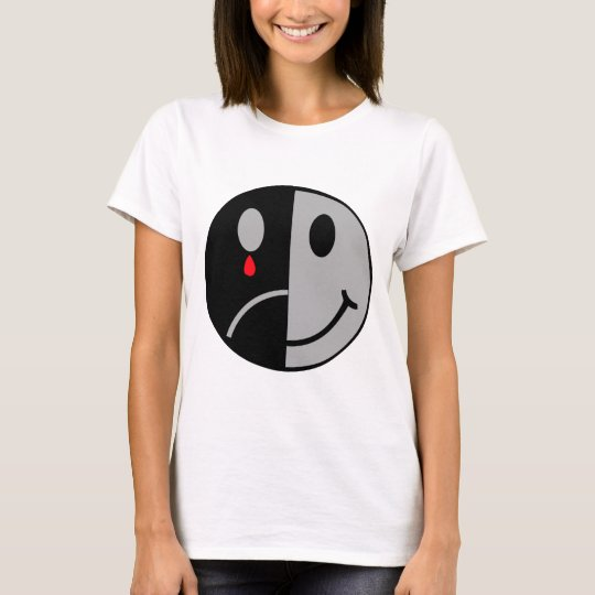 Happy & Sad Face T-Shirt