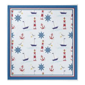 Happy Sailing Nautical Bandana
