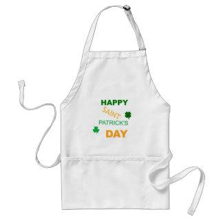 Happy Saint Patrick s Day Aprons