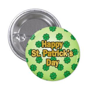 Happy Saint Patrick s Day Button