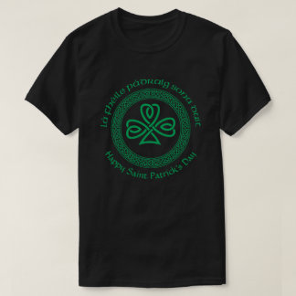 Happy Saint Patrick's Day in Irish Gaelic T-Shirt