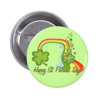 Happy Saint Patricks Day! 6 Cm Round Badge