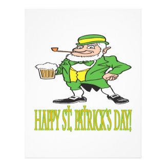 Happy Saint Patricks Day Flyer Design