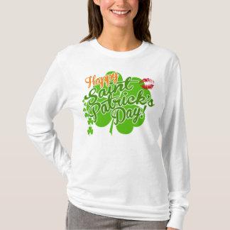 Happy Saint Patrick's Day Kiss Me T-Shirt