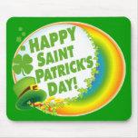 Happy Saint Patrick's Day! Mouse Mat