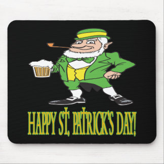 Happy Saint Patricks Day Mousepads