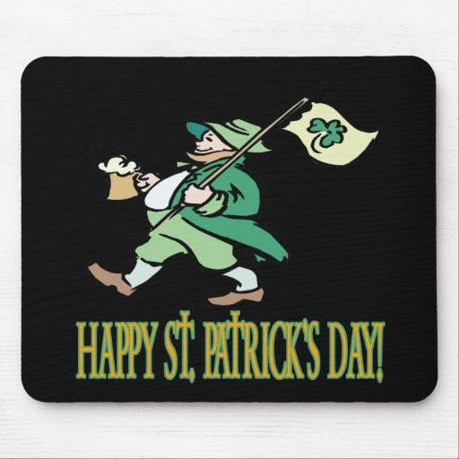 Happy Saint Patricks Day Mousepad