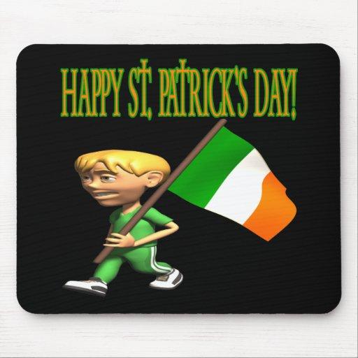 Happy Saint Patricks Day Mouse Pads