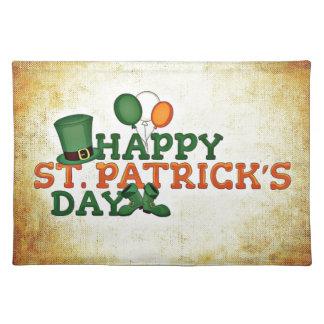 Happy Saint Patricks Day Placemat