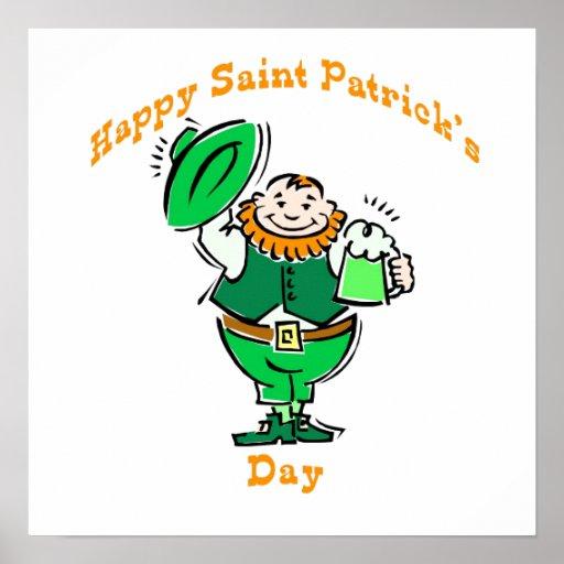 Happy Saint Patrick's Day Print