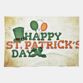 Happy Saint Patricks Day Tea Towel