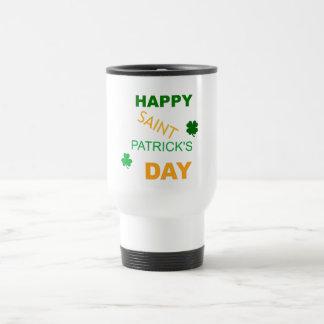 Happy Saint Patrick's Day Travel Mug