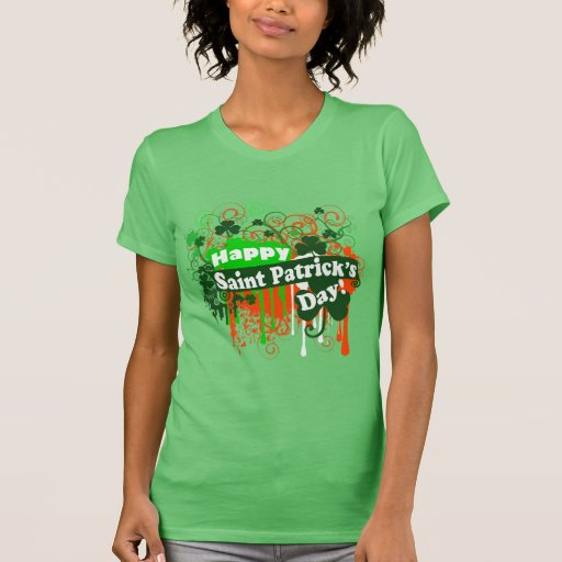 Happy Saint Patricks Day Tee Shirts