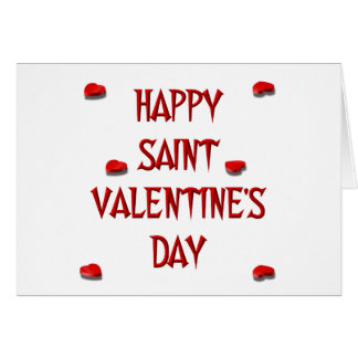 Happy Saint Valentine s Day Candy Boxes Cards