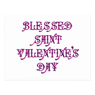 Happy Saint Valentine's Day Postcards