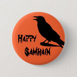 Happy Samhain Button