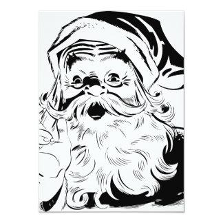 Happy Santa 11 Cm X 16 Cm Invitation Card