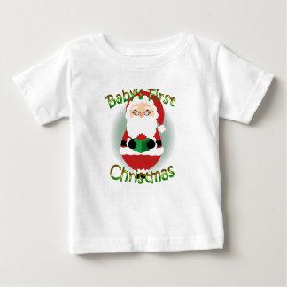 Happy Santa Baby Shirt