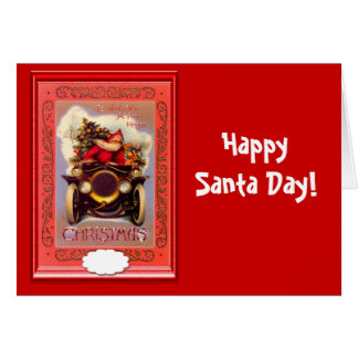 Happy Santa Day Card