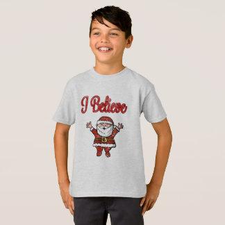Happy Santa I Believe Shirt