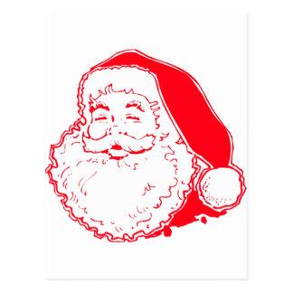 Happy Santa Postcard
