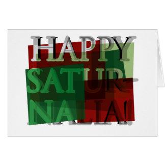 Happy Saturnalia! 01 Greeting Card