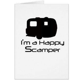 Happy Scamper Fun Stuff! Card