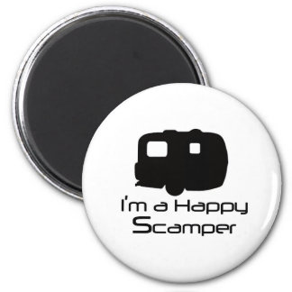 Happy Scamper Fun Stuff! Magnet