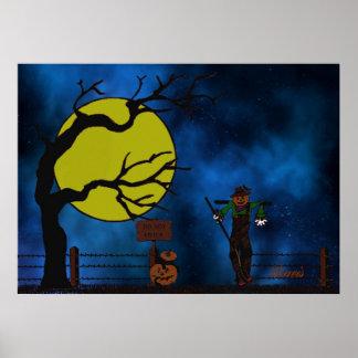 Happy Scarecrow Posters