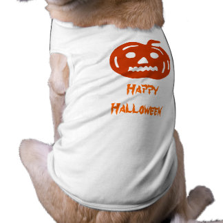 Happy Scary Halloween Pumpkin Pet Clothing