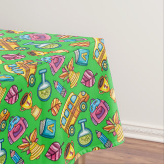 Happy School Tablecloth Table Cover