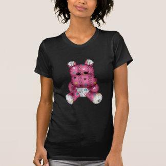happy scribble hearts hippo shirts