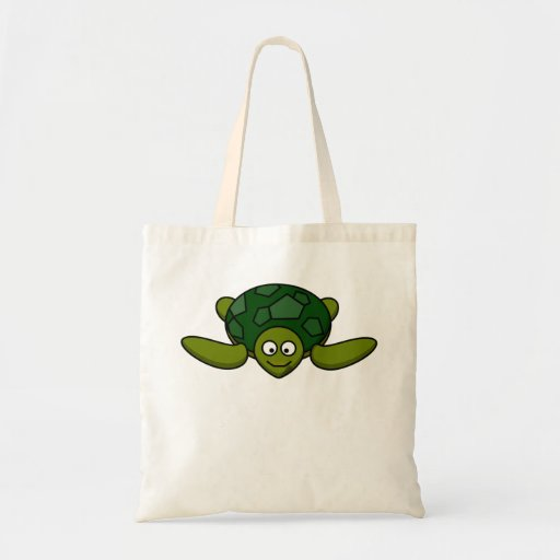Happy Sea Turtle Bags