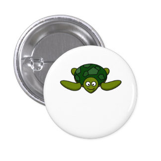 Happy Sea Turtle Buttons