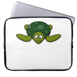 Happy Sea Turtle Computer Sleeves