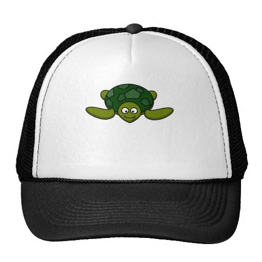 Happy Sea Turtle Trucker Hats