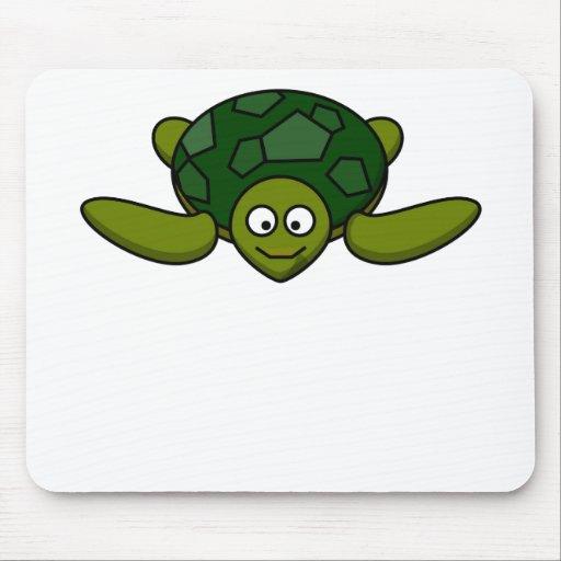 Happy Sea Turtle Mousepad