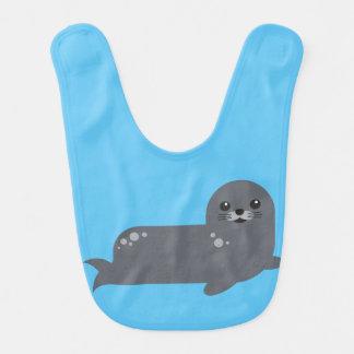 Happy seal bib