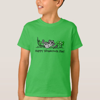"""Happy Shamrock Day!"" St. Patrick's Day Youth T-Shirt"