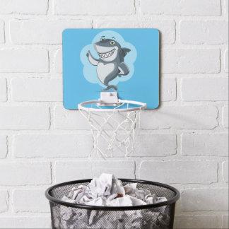 Happy shark mini basketball hoop