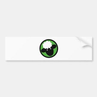 Happy Sheep Bumper Sticker