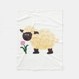 Happy Sheep Fleece Blanket