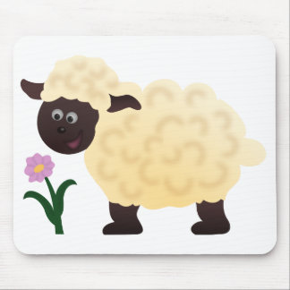 Happy Sheep Mouse Mat