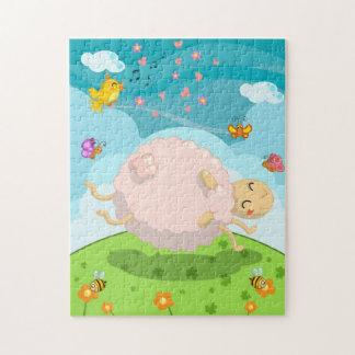 happy sheep puzzle