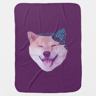 Happy Shiba Buggy Blankets