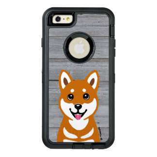 Happy Shiba Inu Cartoon iPhone Case
