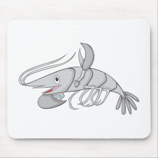 Happy Shrimp Mousepads