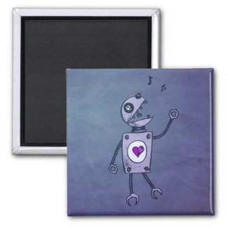 Happy Singing Robot Magnet